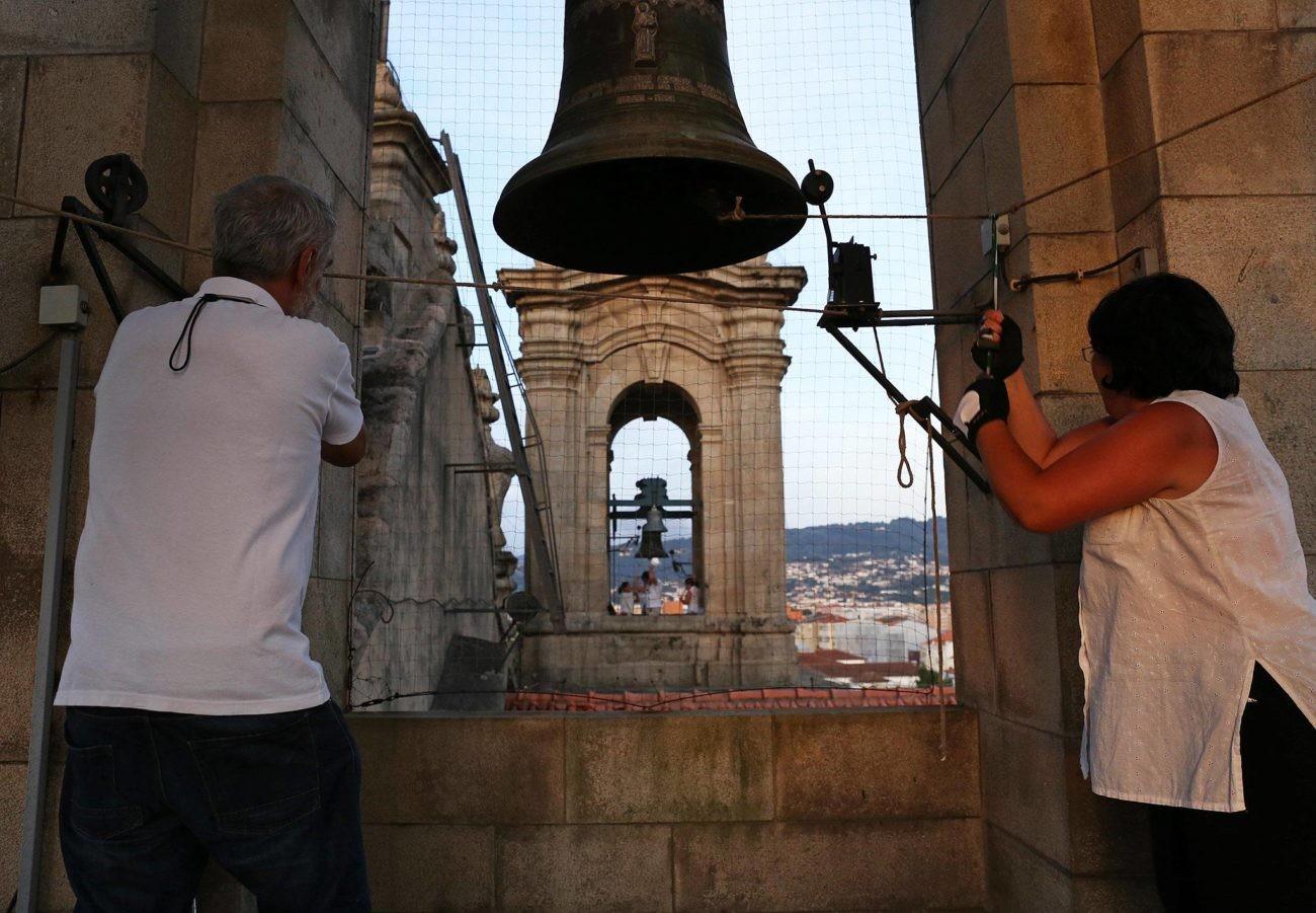 BRAGA - Braga comemora o 25 de Abril com concerto de sinos 'Liberdade, Libertad, Liberté'