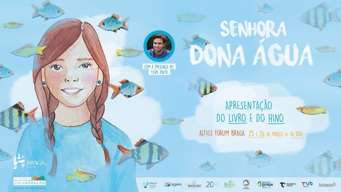 CULTURA - Altice Forum Braga recebe apresentação do livro 'Senhora da Água' dias 25 e 26