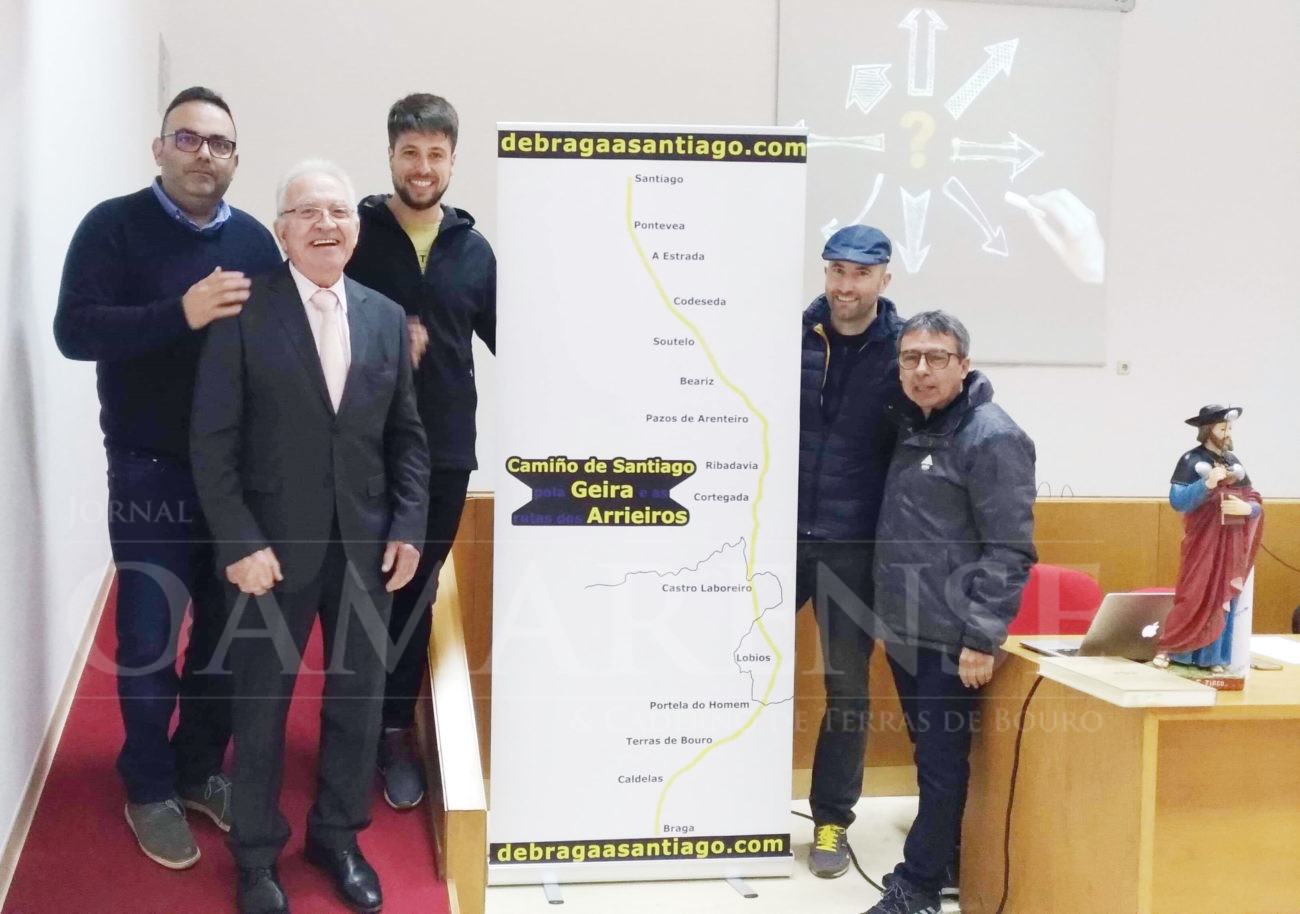 CALDELAS (Amares): Amares marca caminho Braga-Santiago e Caldelas disponibiliza um albergue