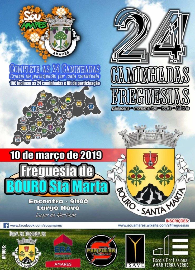 DESPORTO E LAZER - Caminhada em Bouro Santa Marta este domingo