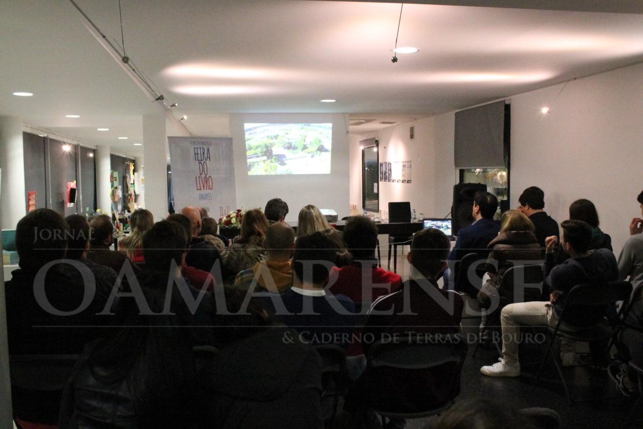 AMARES - Sessão evocativa de Camilo Castelo Branco decorreu esta noite na Galeria de Artes e Ofícios