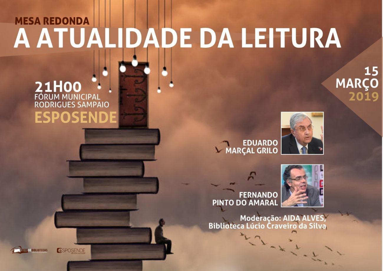 "REGIÃO - Esposende debate ""Actualidade da Leitura"" esta sexta-feira"