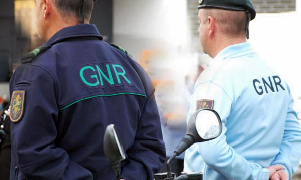 GNR - 45 pessoas detidas em flagrante delito no decorrer da semana