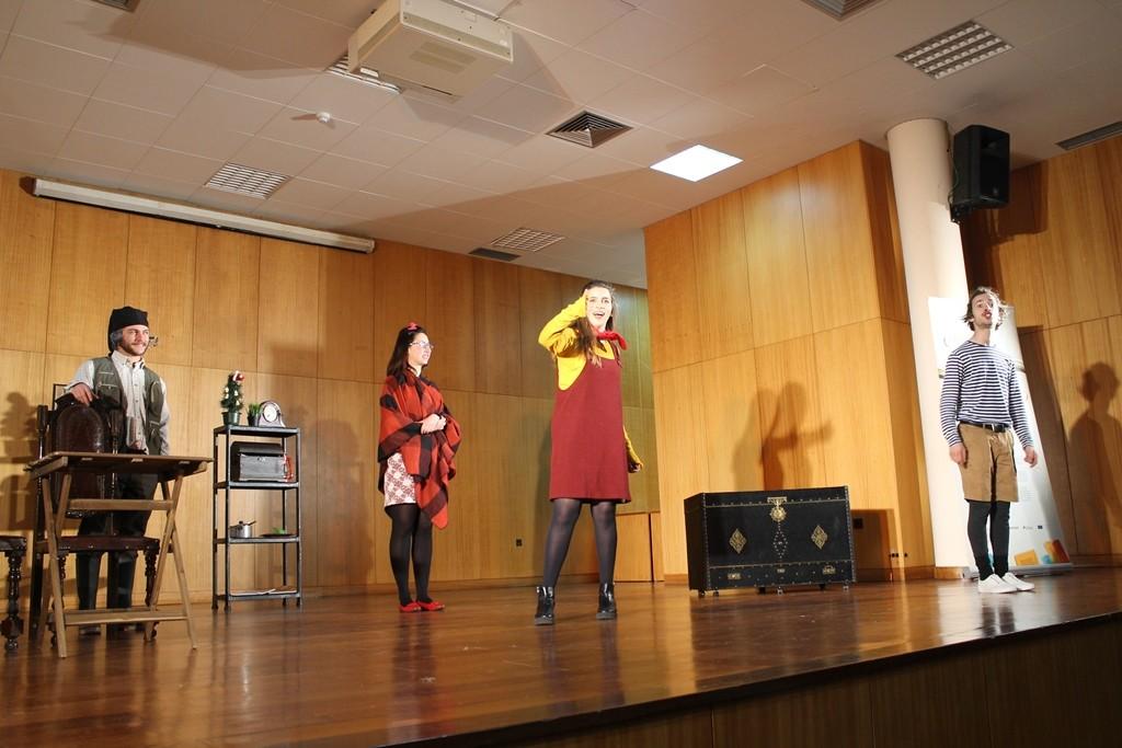 TERRAS DE BOURO –  Auditório da Vila do Gerês recebeu peça de teatro
