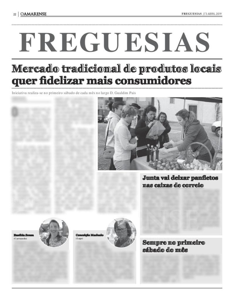 EDIÇÃO IMPRESSA –   Mercado tradicional de produtos locais quer fidelizar mais consumidores
