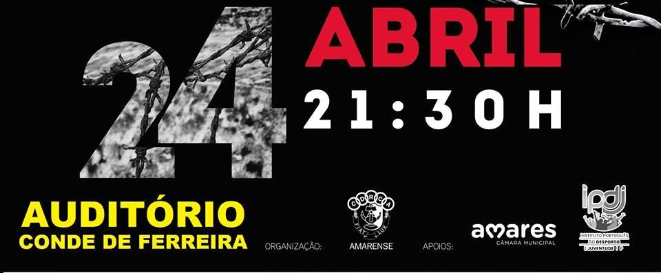 AMARES – Esta quarta-feira há teatro no Auditório Conde Ferreira