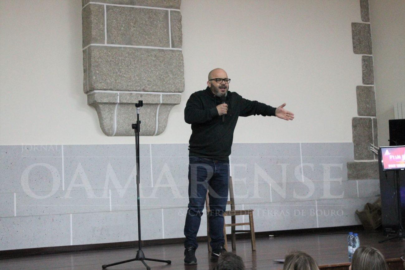AMARES - Fernando Rocha arrancou imensas gargalhadas em Bouro Santa Marta