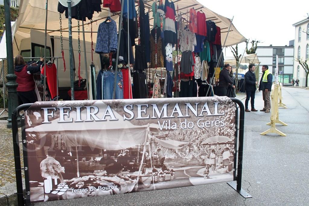 VILA DO GERÊS:Feira Semanal muda-se para a Avenida Principal