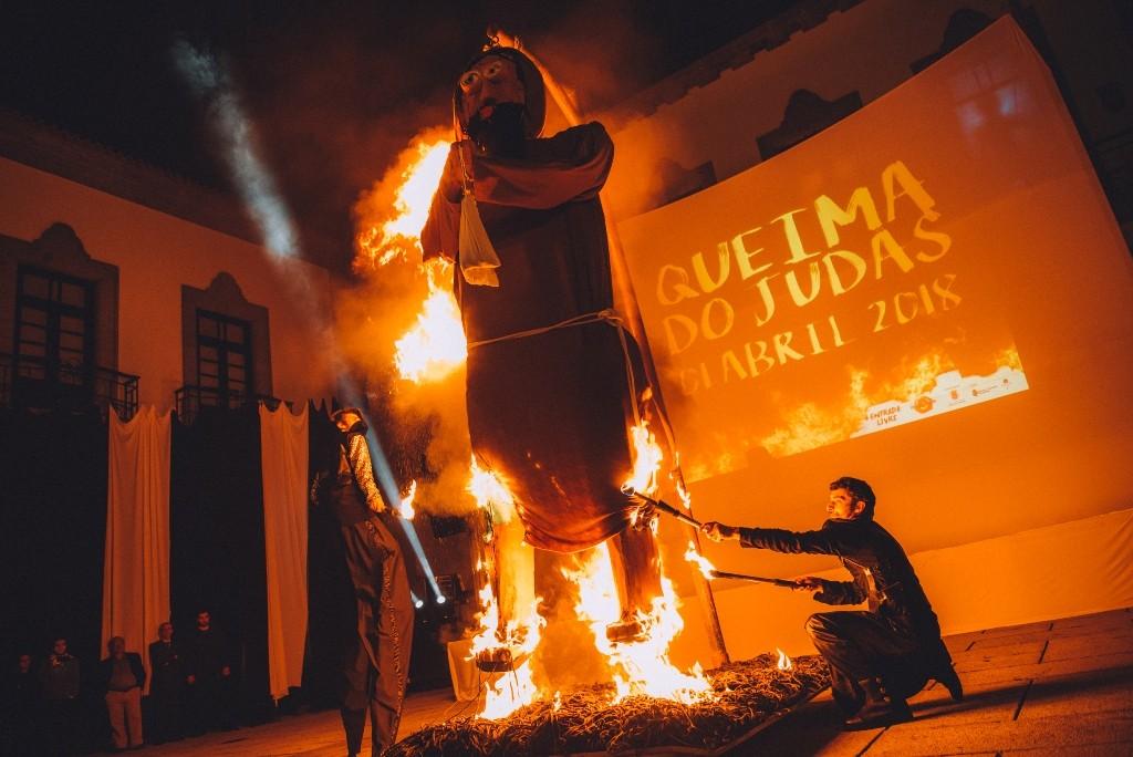 REGIÃO - Queima-se o Judas domingo na Póvoa de Lanhoso