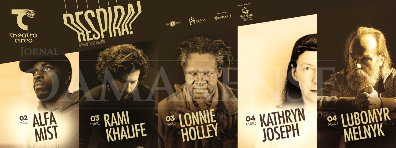 "CULTURA - Alfa Mist, Lonnie Holley, Lubomyr Melnyk, Kathryn Joseph e Rami Khalife na 3ª edição do ""RESPIRA!"""