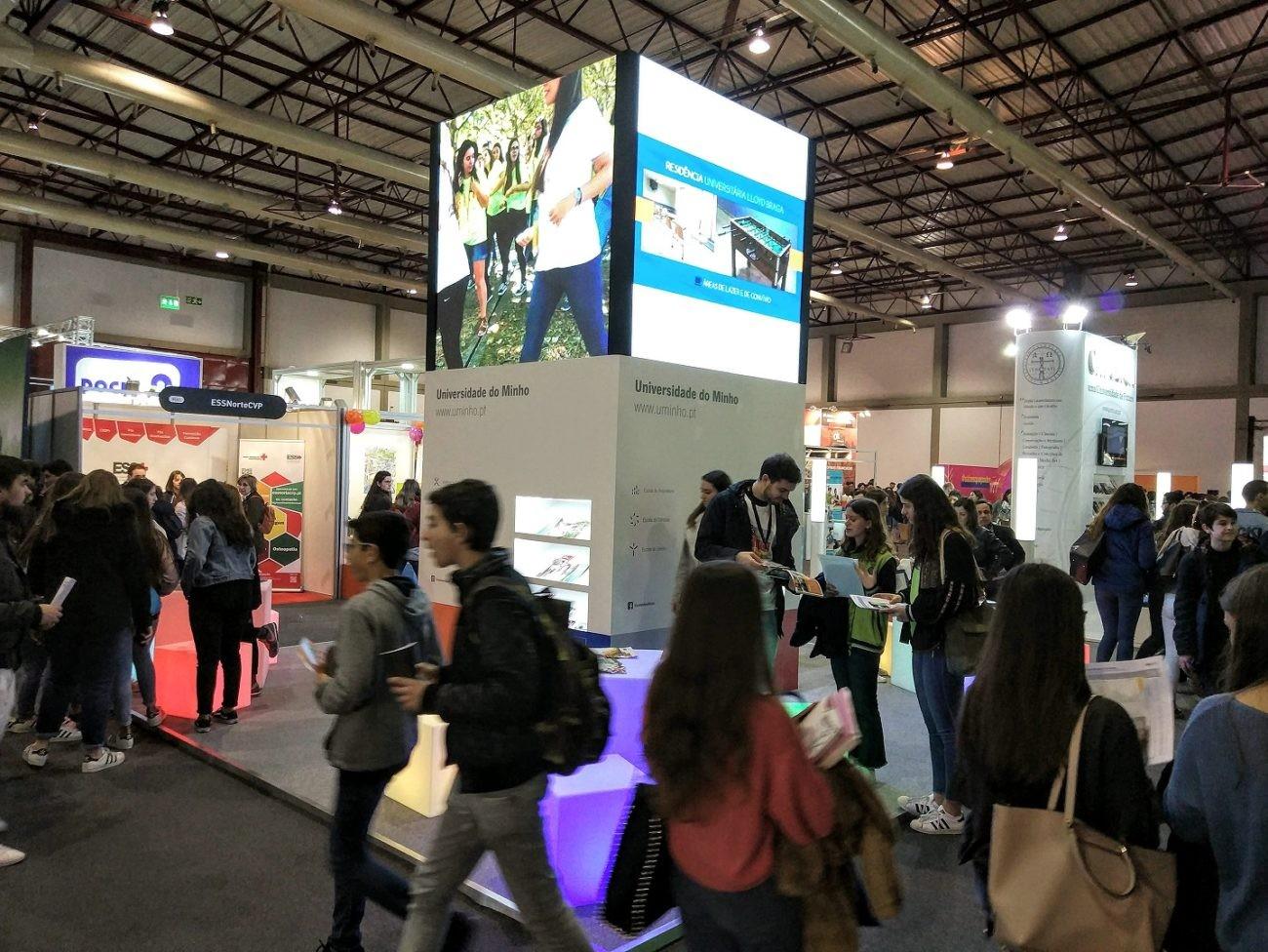 UMINHO - Universidade do Minho participa na Futurália, a maior feira nacional de educação