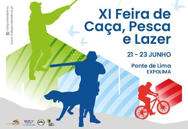 REGIÃO - Ponte de Lima realiza XI Feira da Caça, Pesca e Lazer de 21 a 23 de Junho