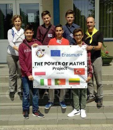 """EDUCAÇÃO – Alunos de Amares em visita à Lituânia no âmbito do projecto Erasmus+ """"The Power of Maths"""""""