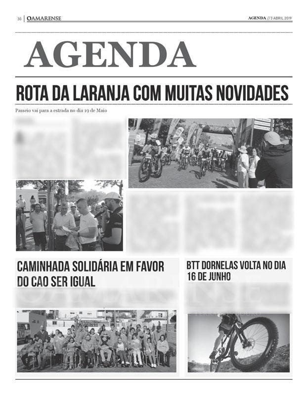 EDIÇÃO IMPRESSA – Rota da Laranja vai para a estrada este domingo