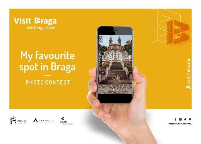 """BRAGA - Visitbraga.travel lança concurso de fotografia """"My favourite spot in Braga"""" dirigido a estudantes da UMinho"""