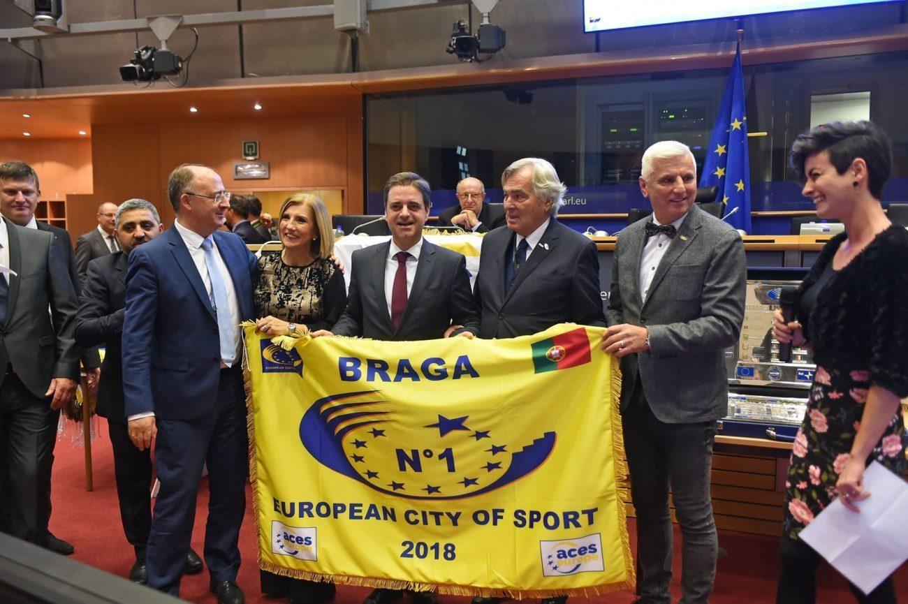 BRAGA - Jornalistas desportivos atribuem Prémio de Excelência a Ricardo Rio