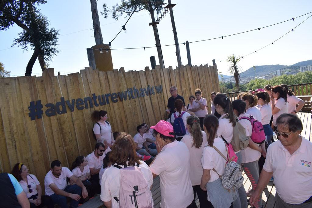 VALE DO HOMEM – Colaboradores do CSVH comemoram Dia do Trabalhador no Picoto Park