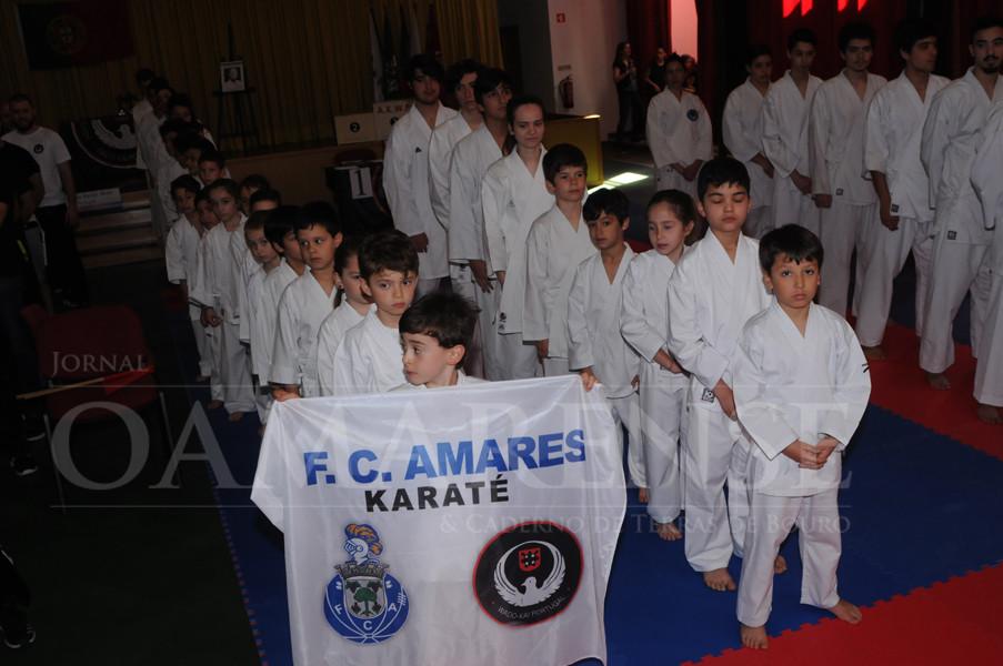 Nacional de Karaté AKWP em Amares