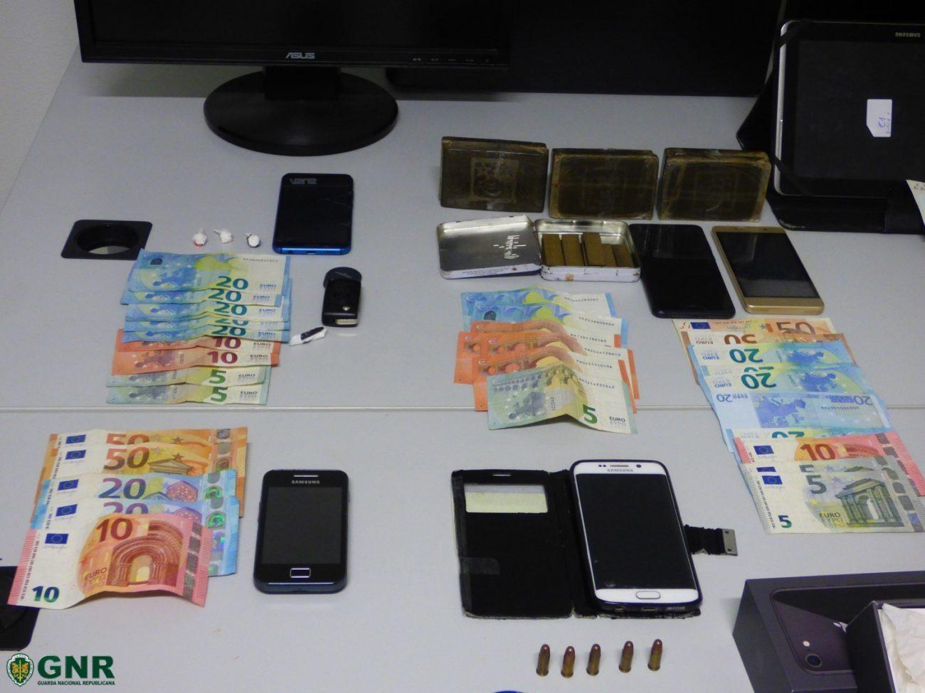 JUSTIÇA – Prisão preventiva para sete dos nove detidos por tráfico de droga