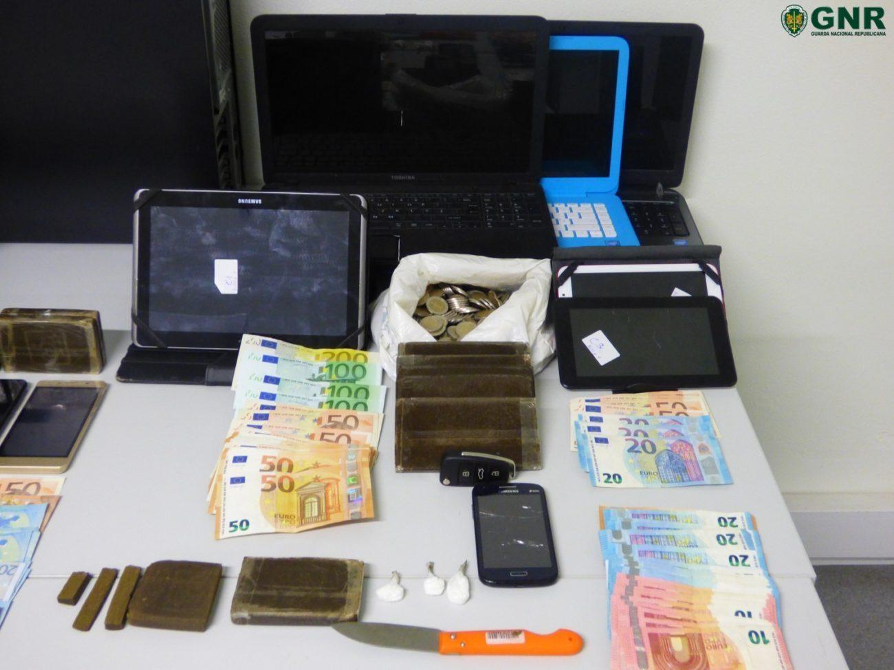 CRIME – GNR apreendeu mais de 2700 doses de droga em operação que passou por Amares