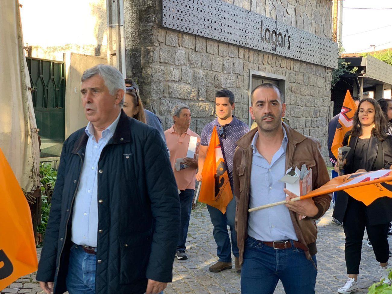 EUROPEIAS – PSD Amares juntou-se a José Manuel Fernandes na campanha para as Europeias