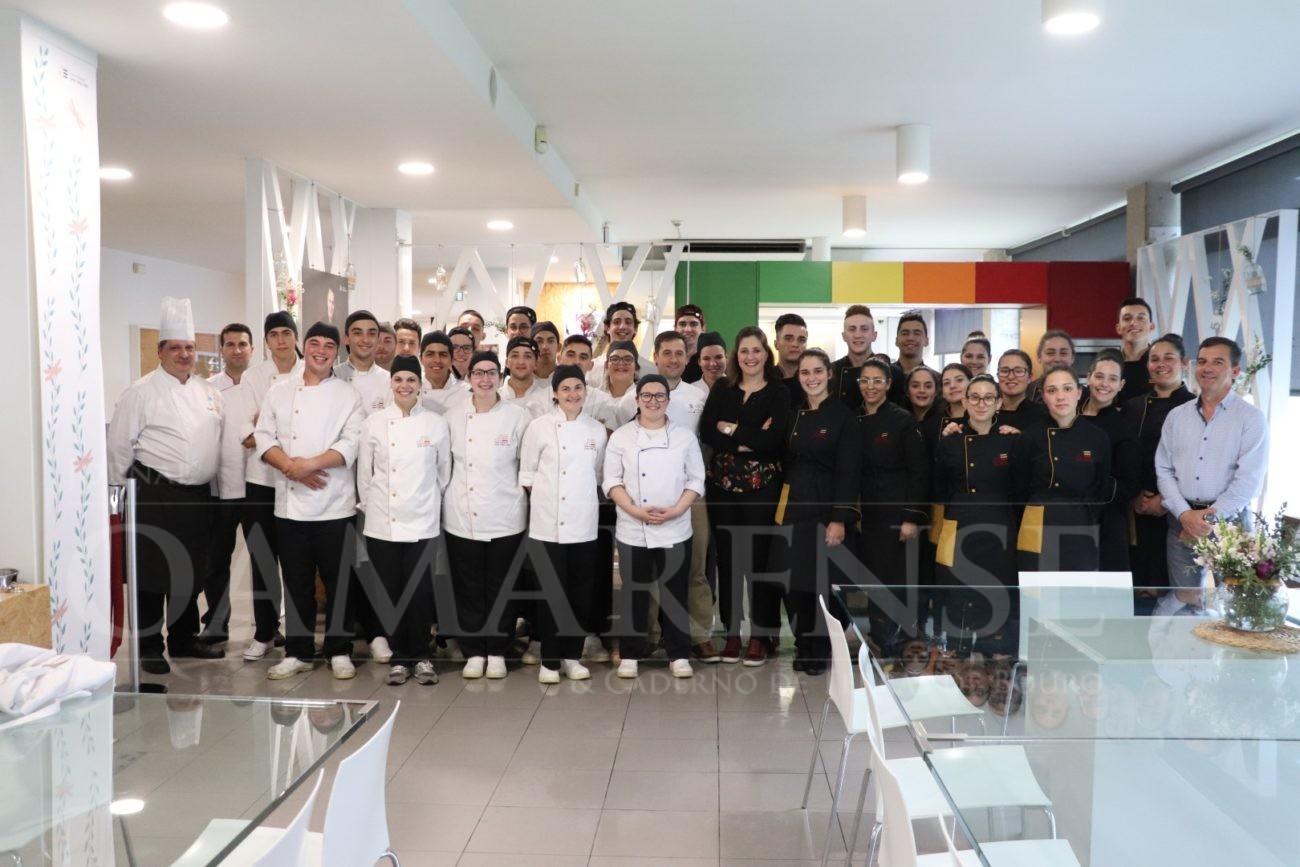 REGIÃO - Finalistas da EPATV do curso de Restaurante/Bar e Cozinha/Pastelaria apresentaram PAP's esta semana