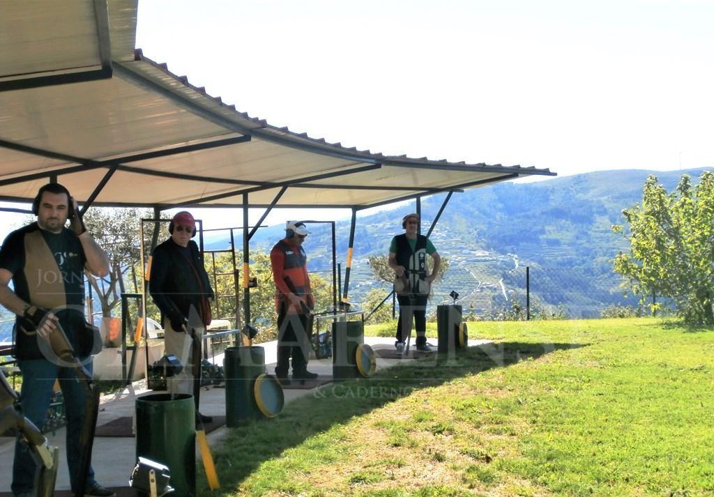 TERRAS DE BOURO - Equipa de tiro aos pratos de Terras de Bouro presente na 4ª Prova do Circuito InterClubes na Régua