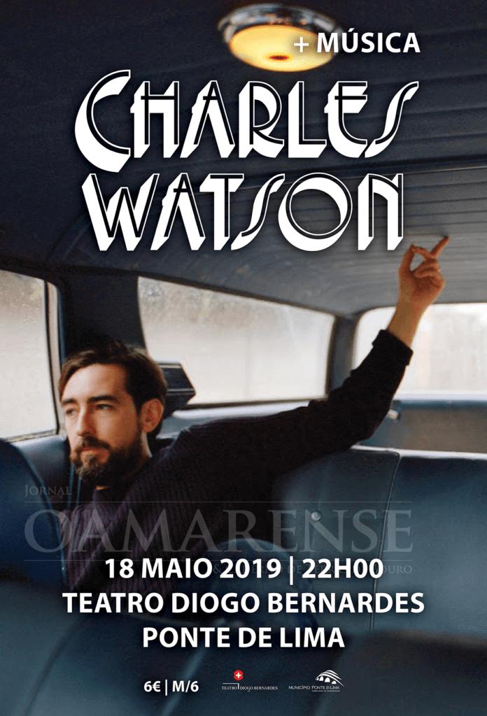 CULTURA - Charles Watson actua no Teatro Diogo Bernardes