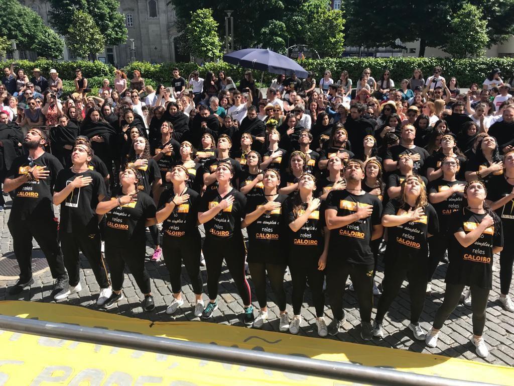 EDUCAÇÃO – ISAVE deu mais colorido ao Cortejo Académico de Braga