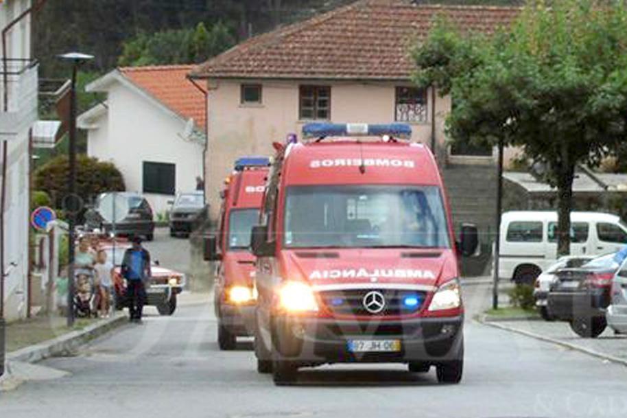 TERRAS DE BOURO – Mulher ferida após atropelamento de pesado em Carvalheira