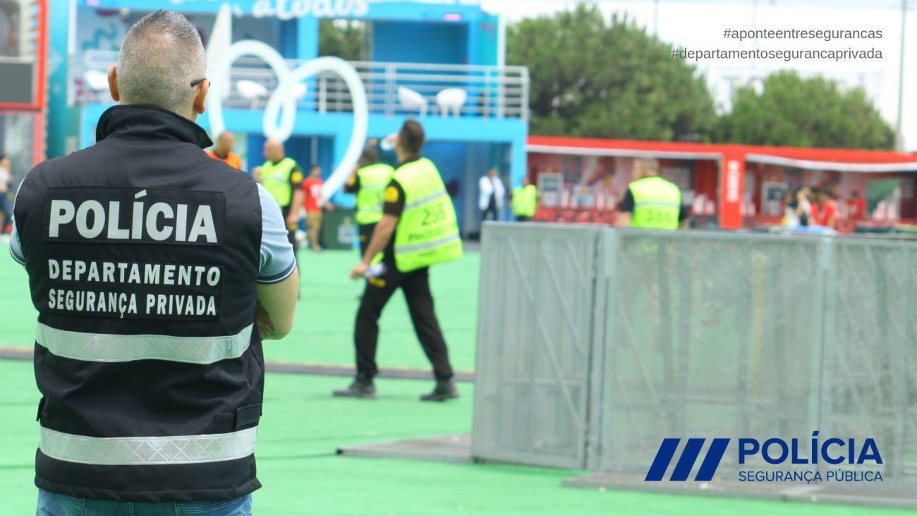 NACIONAL - PSP detém gerente de empresa de segurança privada por falta de alvará