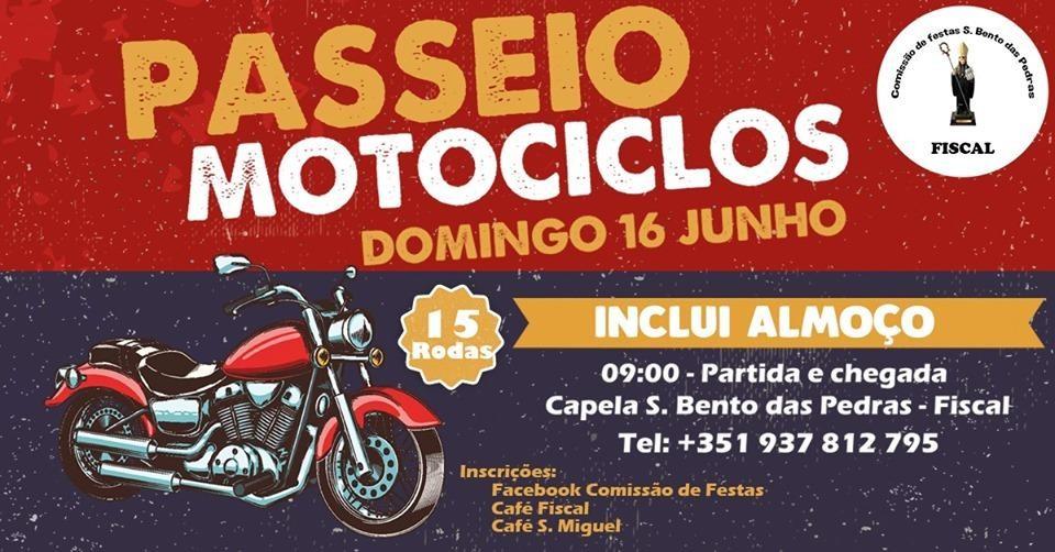 AMARES – Comissão de Festas de Fiscal promove passeio de motociclos