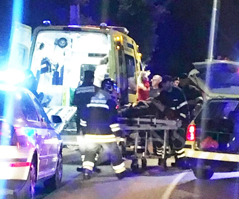 ÚLTIMA HORA: Bombeira dos voluntários de Amares ferida com gravidade em acidente de viação em Vila Verde
