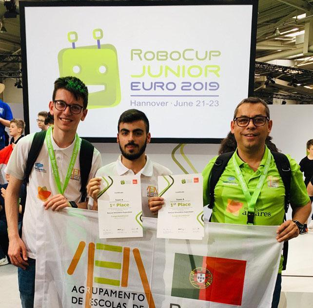 AMARES – ESA Robots vence categoria do Europeu de Robótica