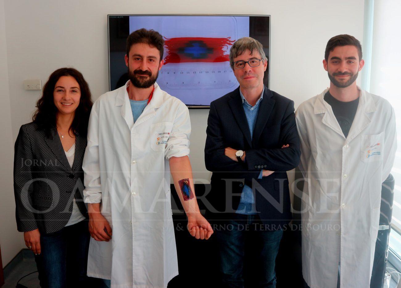 INOVAÇÃO – Cientista da UMinho recebe bolsa do Conselho Europeu de Investigação para desenvolver penso inteligente para feridas