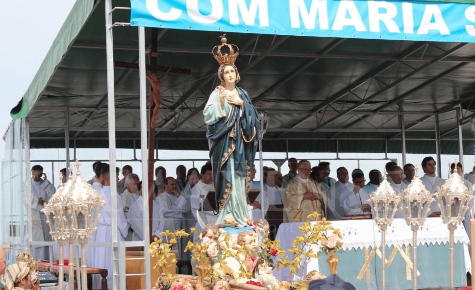 RELIGIÃO (Braga) - Milhares de fiéis presentes na Peregrinação Arquidiocesana ao Sameiro