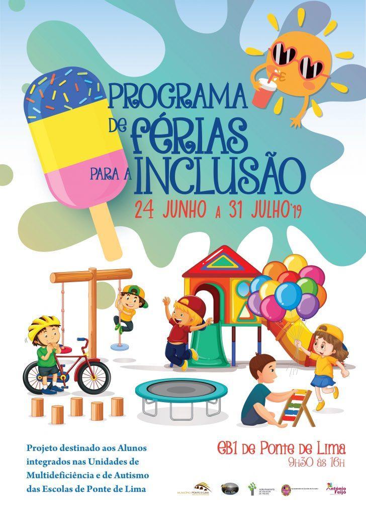 REGIÃO - Ponte de Lima promove programa de férias para a inclusão