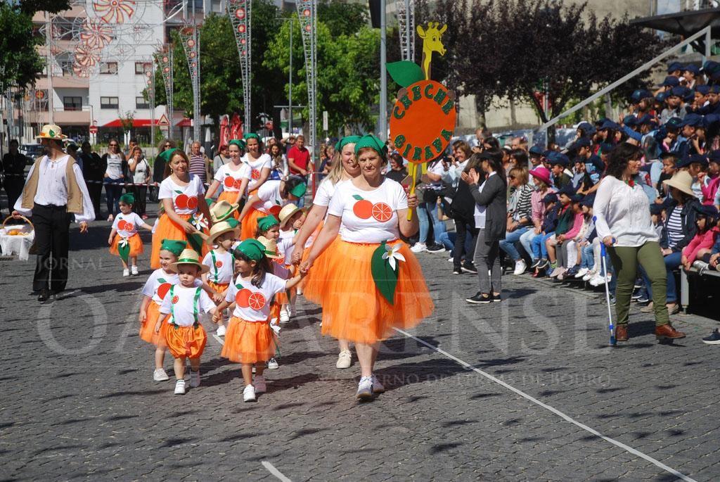 AMARES –  Marchas infantis coloriram Praça do Comércio