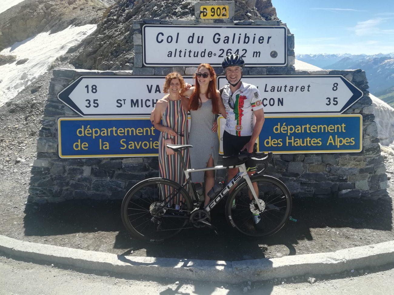 Amarense faz rota dos grandes Alpes de bicicleta