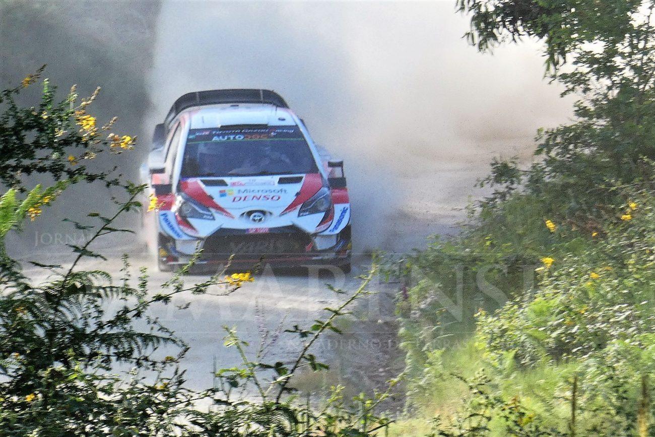 AUTOMOBILISMO - Toyota Yaris e Ott Tanak estreiam-se a vencer em Portugal