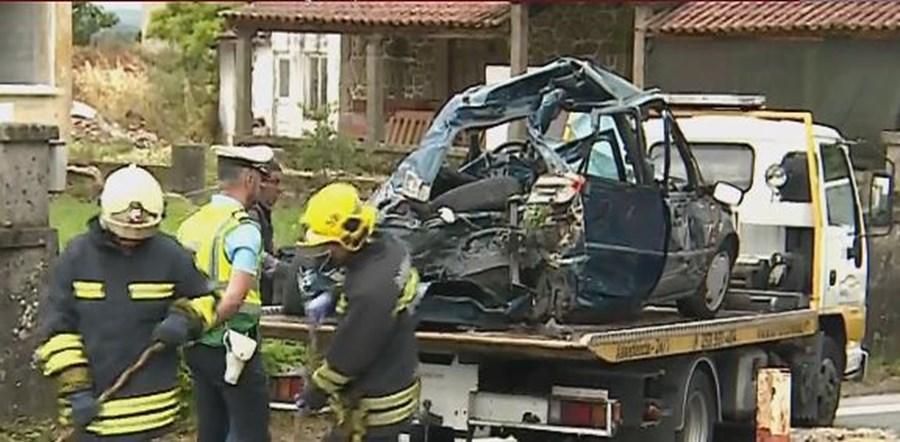 REGIÃO - Automóvel não respeitou sinalização em acidente ferroviário com três mortos em Barcelos