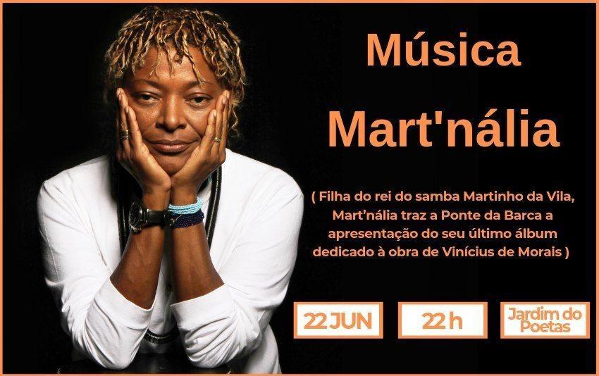 CULTURA - Artista brasileira Mart'nália em Ponte da Barca este sábado