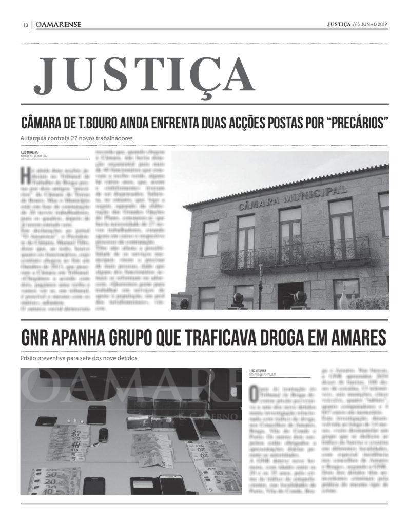 EDIÇÃO IMPRESSA – Câmara de T. Bouro ainda enfrenta duas acções postas por precários