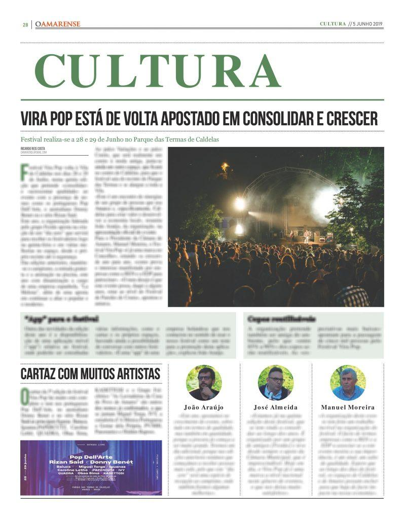 EDIÇÃO IMPRESSA – Vira Pop está de volta apostado em consolidar e crescer