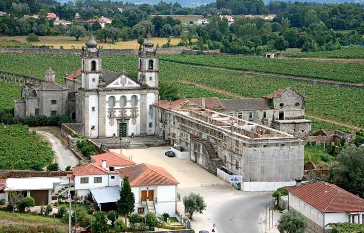 AMARES – Obras na Igreja do Mosteiro de Rendufe à espera do visto do Tribunal de Contas