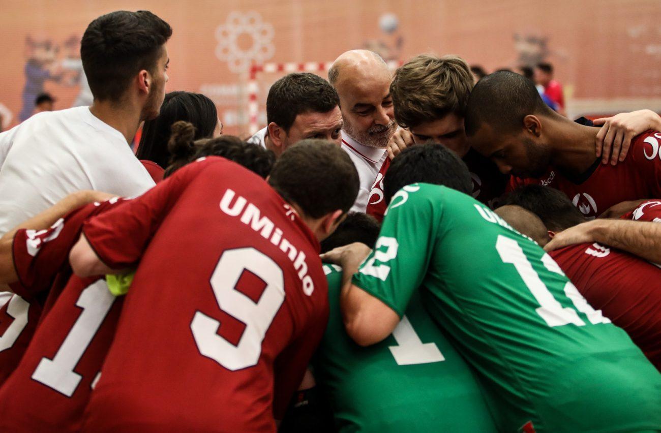 """DESPORTO - """"Kick-off"""" do Campeonato Europeu Universitário de Futsal 2019 esta tarde no pavilhão da Uminho"""