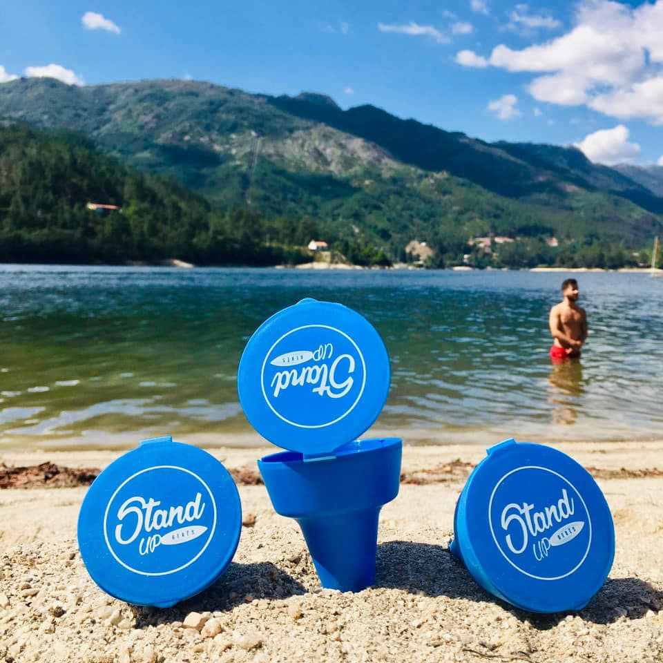GERÊS – Stand Up Gerês distribui cinzeiros ecológicos pela praia