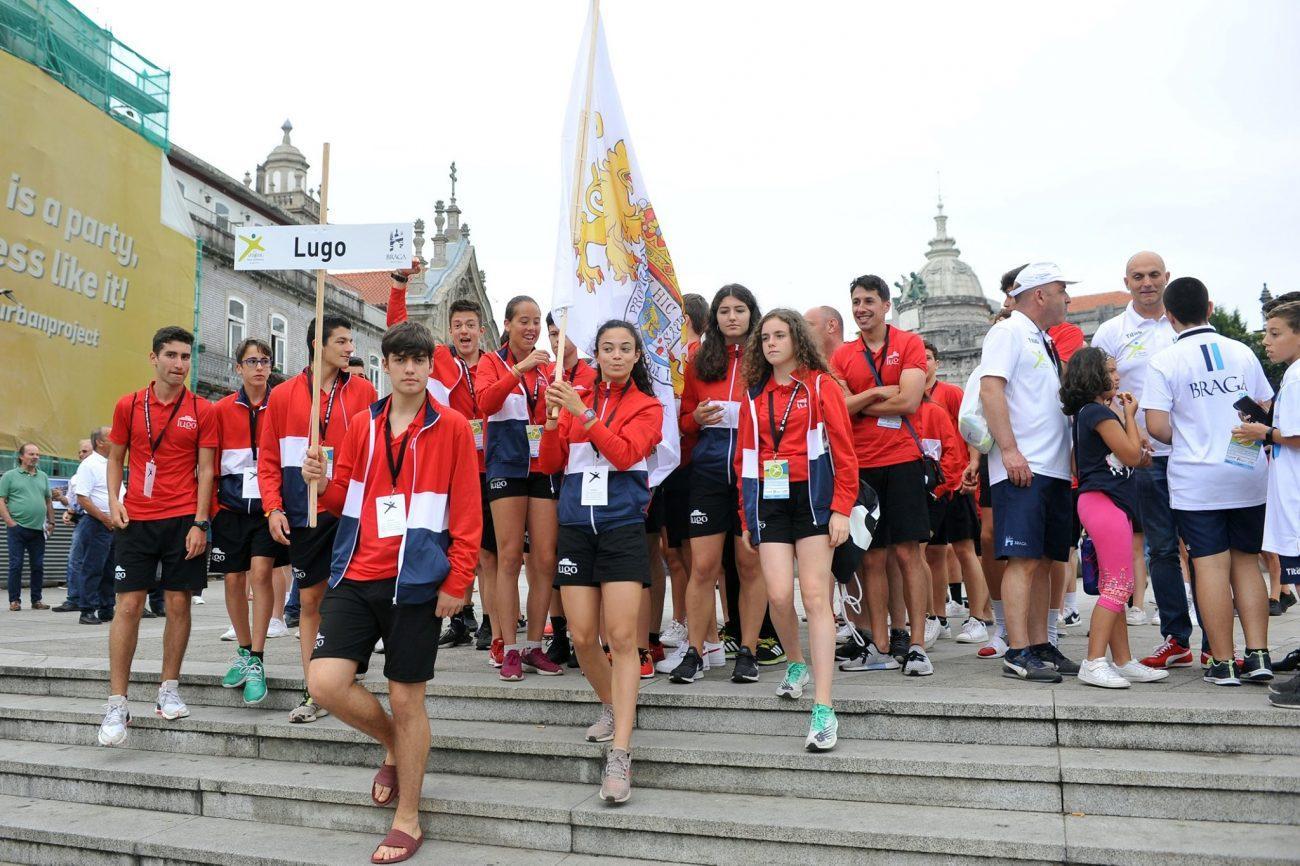 BRAGA - Já arrancaram em Braga os Jogos do Eixo Atlântico para promover desporto sem fronteiras