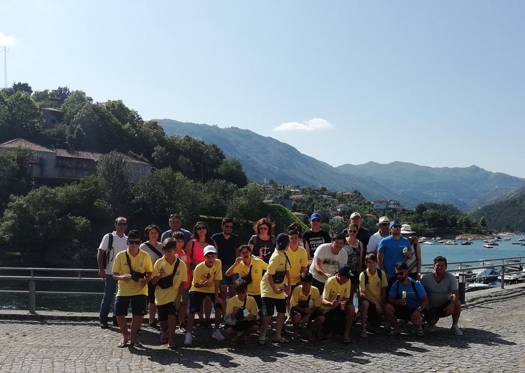 TERRAS DE BOURO - Participantes da Braga CUP estiveram de visita a Terras de Bouro