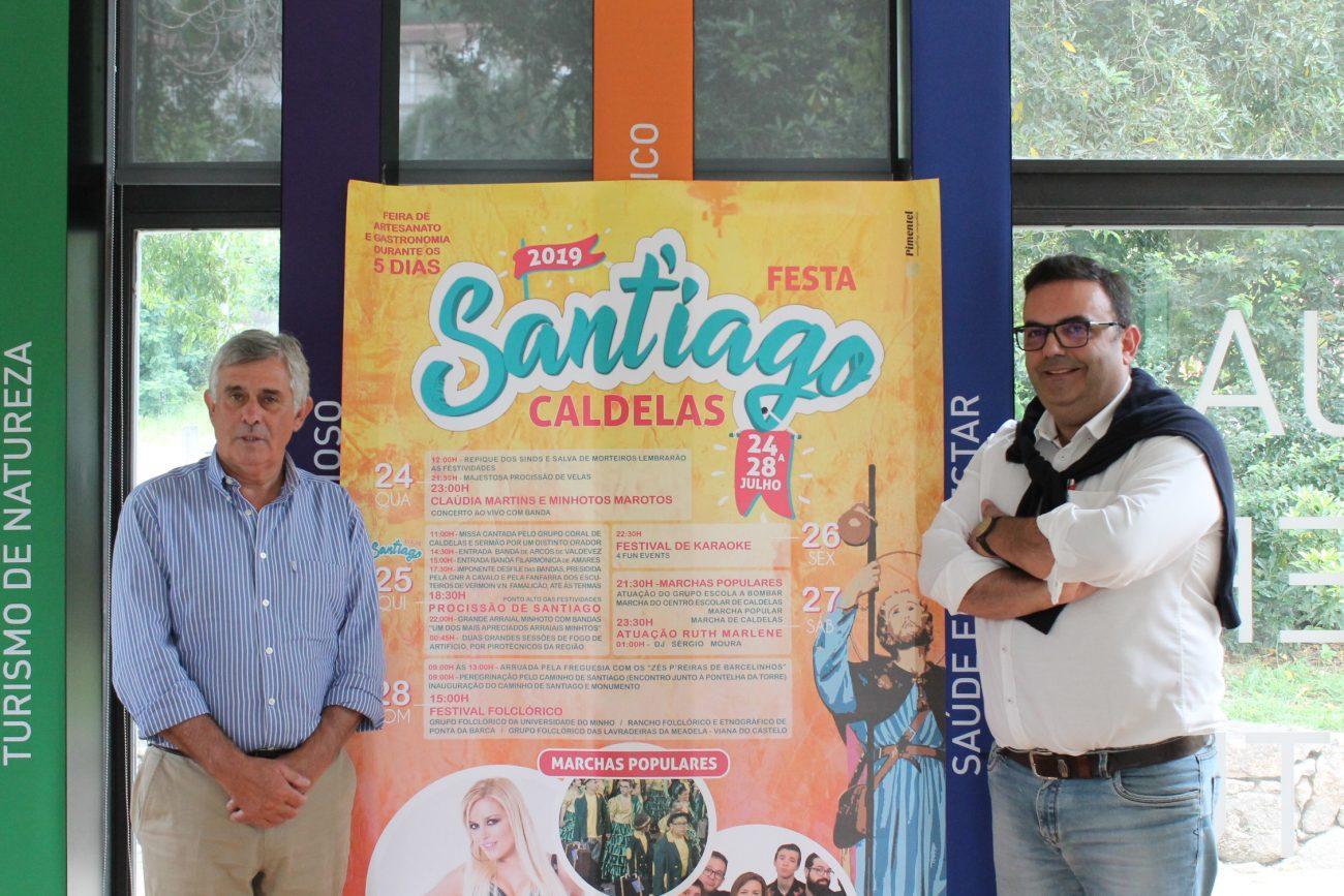 CALDELAS -  Festas de Sant'iago em Caldelas de 24 a 28 de Julho